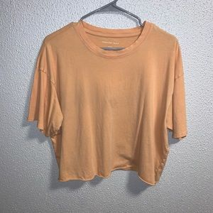 American Eagle cropped tee!